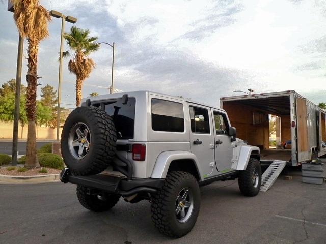 Car Trailer Winch >> Jeep Cruiser Crawler Hauler