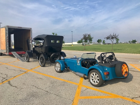 1923 Model T Touring